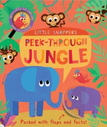 Peek-Through Jungle, Novelty book Book