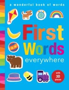 First Words Everywhere : A Wonderful Book of Words, Novelty book Book