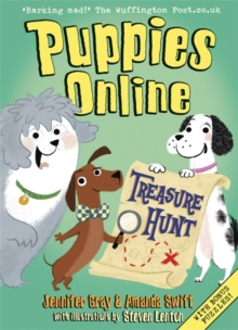 Puppies Online: Treasure Hunt, Paperback Book
