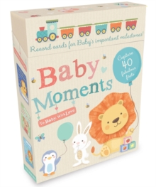 Baby Moments : Record Cards for Baby's Important Milestones!, Cards Book