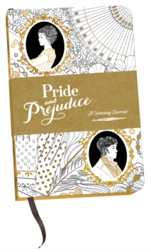 Pride and Prejudice: A Colouring Journal, Hardback Book