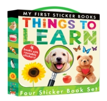 My First Sticker Books: Things to Learn, Novelty book Book