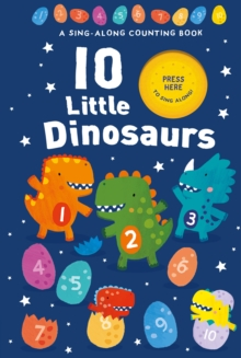 10 Little Dinosaurs, Novelty book Book