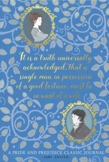 Pride and Prejudice: A Classic Journal, Hardback Book