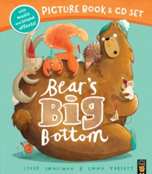 Bear's Big Bottom Book & CD, Mixed media product Book