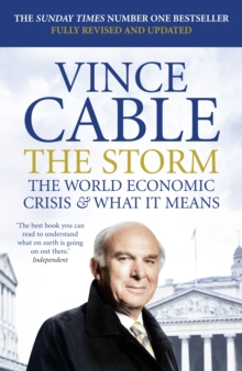 The Storm : The World Economic Crisis and What It Means, Paperback / softback Book