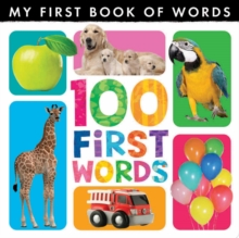 My First Book of Words: 100 First Words, Hardback Book