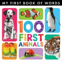 My First Book of Words: 100 First Animals, Hardback Book
