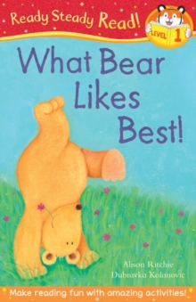 What Bear Likes Best!, Paperback Book