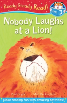 Nobody Laughs at a Lion!, Paperback Book