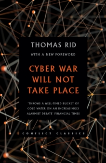Cyber War Will Not Take Place, Paperback Book