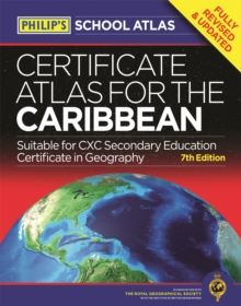 Philip's Certificate Atlas for the Caribbean : 7th Edition, Paperback Book