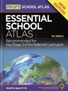 Philip's Essential School Atlas, Paperback Book