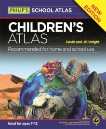 Philip's Children's Atlas, Hardback Book