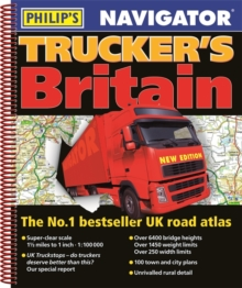 Philip's 2019 Navigator Trucker's Britain, Spiral bound Book