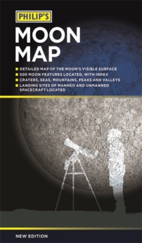 Philip's Moon Map, Paperback / softback Book