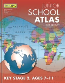 Philip's Junior School Atlas 10th Edition, Hardback Book