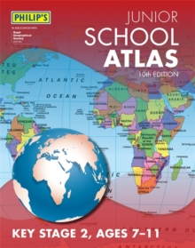 Philip's Junior School Atlas 10th Edition, Paperback / softback Book