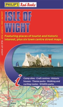 Philip's Red Books Isle of Wight : Leisure and Tourist Map, Paperback / softback Book