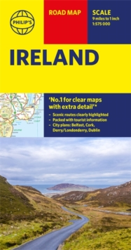 Philip's Ireland Road Map, Sheet map Book