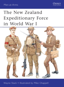 The New Zealand Expeditionary Force in World War I, Paperback Book