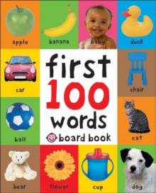 Words : First 100 Soft To Touch, Hardback Book
