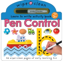 Pen Control, Board book Book