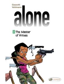 Alone -The Master of Knives, Paperback Book