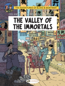 Blake & Mortimer Vol. 25 : The Valley of The Immortals, Paperback / softback Book