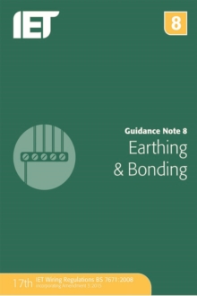 Guidance Note 8: Earthing and Bonding, Paperback Book