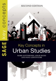 Key Concepts in Urban Studies, Paperback / softback Book