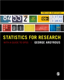 Statistics for Research : With a Guide to SPSS, Paperback Book