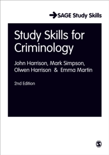 Study Skills for Criminology, Paperback / softback Book