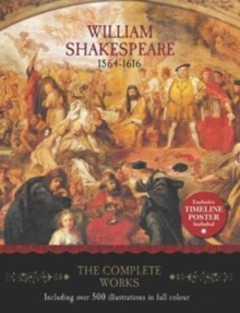 William Shakespeare - The Complete Works, Hardback Book