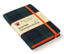 Black Watch: Waverley Genuine Tartan Cloth Commonplace Notebook (9cm x 14cm), Hardback Book
