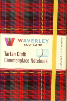Cameron of Erracht: Waverley Genuine Tartan Cloth Commonplace Notebook (9cm x 14cm), Hardback Book