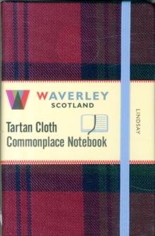Lindsay: Waverley Genuine Tartan Cloth Commonplace Notebook (9cm x 14cm), Hardback Book
