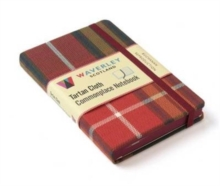 Buchanan Reproduction: Waverley Genuine Tartan Cloth Commonplace Notebook (9cm x 14cm), Hardback Book