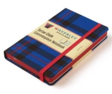 Waverley Scotland Large Tartan Cloth Commonplace Notebook - Elliot Tartan, Hardback Book