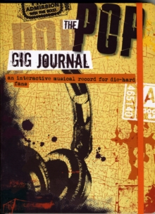The Pop Gig Journal, Paperback Book