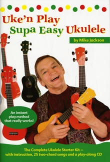 Mike Jackson : Uke'n Play Supa Easy Ukulele (Book/CD), Paperback Book