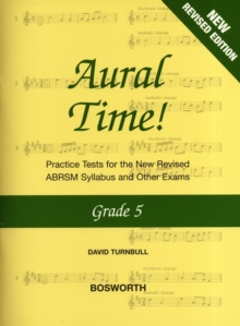 David Turnbull : Aural Time] - Grade 5 (ABRSM Syllabus From 2011), Paperback Book