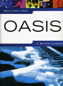 Really Easy Piano : Oasis, Paperback Book