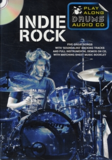 Play Along Drums Audio CD : Indie Rock, Paperback Book