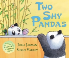 Two Shy Pandas, Paperback Book
