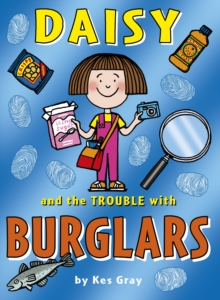 Daisy and the Trouble with Burglars, Paperback Book