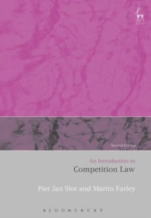 An Introduction to Competition Law, Paperback / softback Book