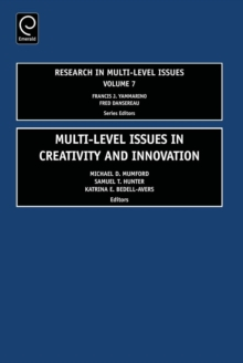 Multi Level Issues in Creativity and Innovation, PDF eBook