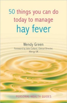 50 Things You Can Do To Manage Hay Fever, Paperback Book