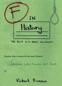 F in History, Paperback / softback Book